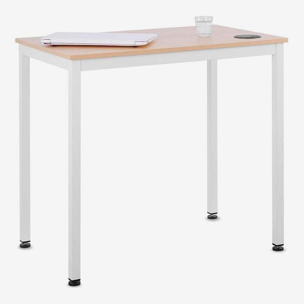 Eureka Ergonomic Small White Desk