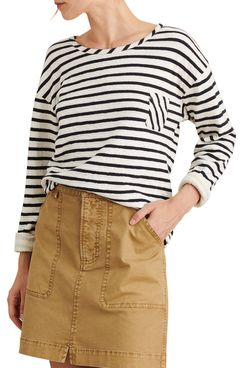 alex mill stripe double pocket knit pullover - strategist nordstrom half yearly sale best deals