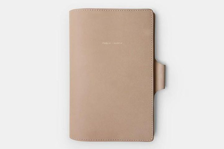 Public Supply Leather Notebook Cover