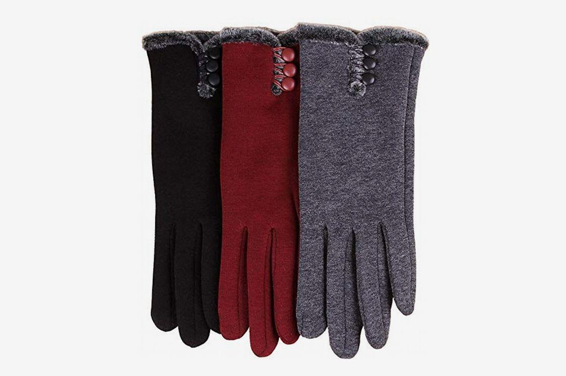 T-GOTING Women's Winter Touchscreen Driving Gloves