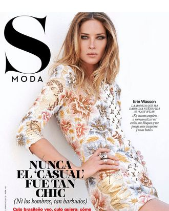 Erin Wasson for <em>S Moda</em>.