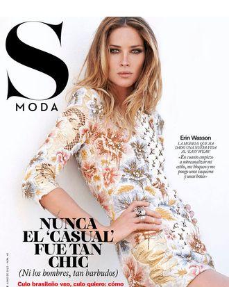 Erin Wasson for <em>S Moda</em>.