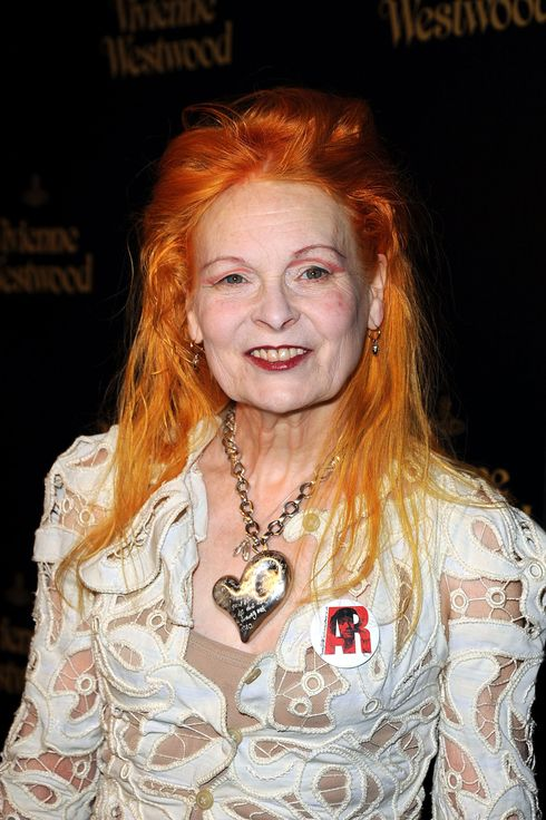 LOS ANGELES, CA - MARCH 30:  Dame Vivienne Westwood arrives at the Vivienne Westwood store opening party on Melrose March 30, 2011 in Los Angeles, California.  (Photo by Frazer Harrison/Getty Images) *** Local Caption *** Vivienne Westwood