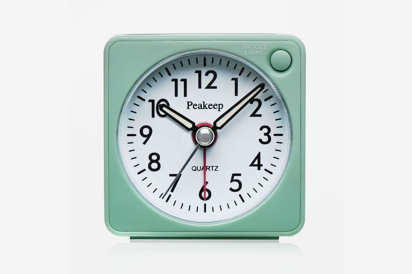 Peakeep Ultra Small, Battery Travel Alarm Clock