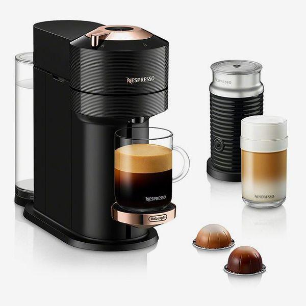 Nespresso Vertuo Next Coffee and Espresso-Maker With Aeroccino Milk Frother