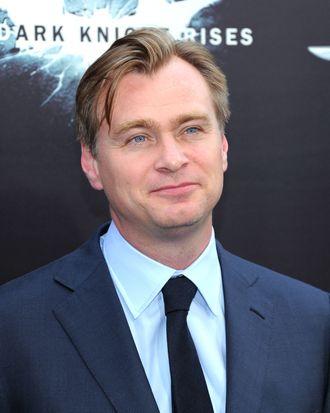 Director Christopher Nolan attends
