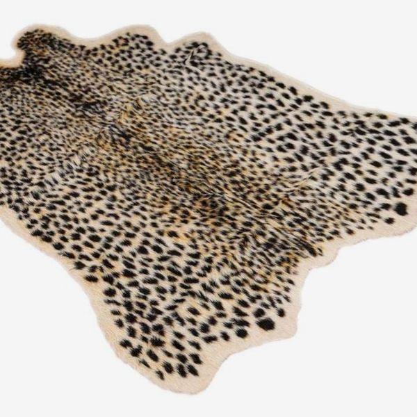 Demiawaking Leopard Print Rug
