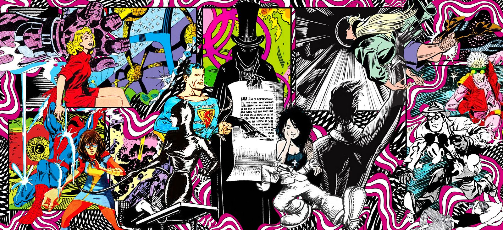 The 100 Pages That Shaped Comics