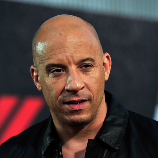 "Actor Vin Diesel arrives at the Premiere Of Universal Pictures' ""Fast & Furious 6"" on May 21, 2013 in Universal City, California."