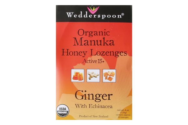 Wedderspoon Manuka Honey Drops in Ginger