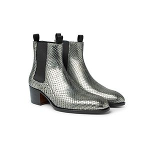 Python Chelsea Boots
