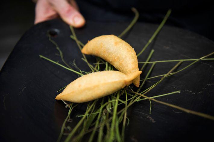 Black-truffle quesadilla.
