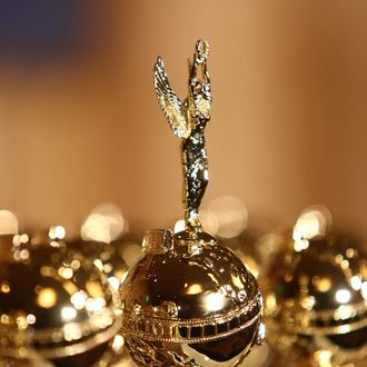 Unveiling Of The New 2009 Golden Globe Statuettes