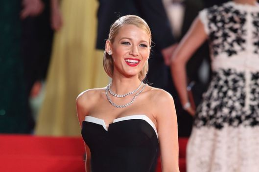 "CANNES, FRANCE - MAY 16:  Blake Lively attends ""The Captive"" Premiere at the 67th Annual Cannes Film Festival on May 16, 2014 in Cannes, France.  (Photo by Mike Marsland/WireImage)"
