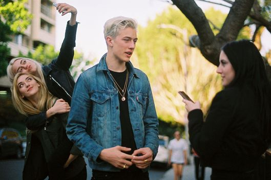 Lucky Blue The Most In Demand Male Mormon Model The Cut