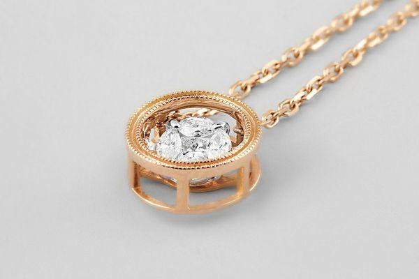 Noémie Rumba Dancing Diamond Necklace