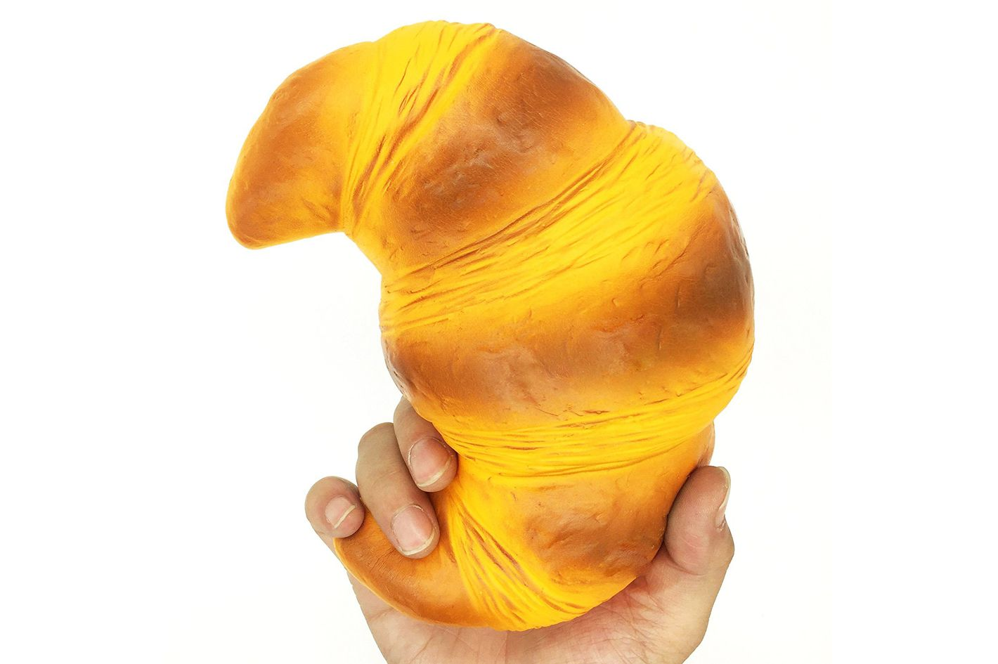 """HooMore 7.5"""" Jumbo Croissant Silly Squishies"""