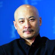 Chinese director Wang Quan'an gives a pr
