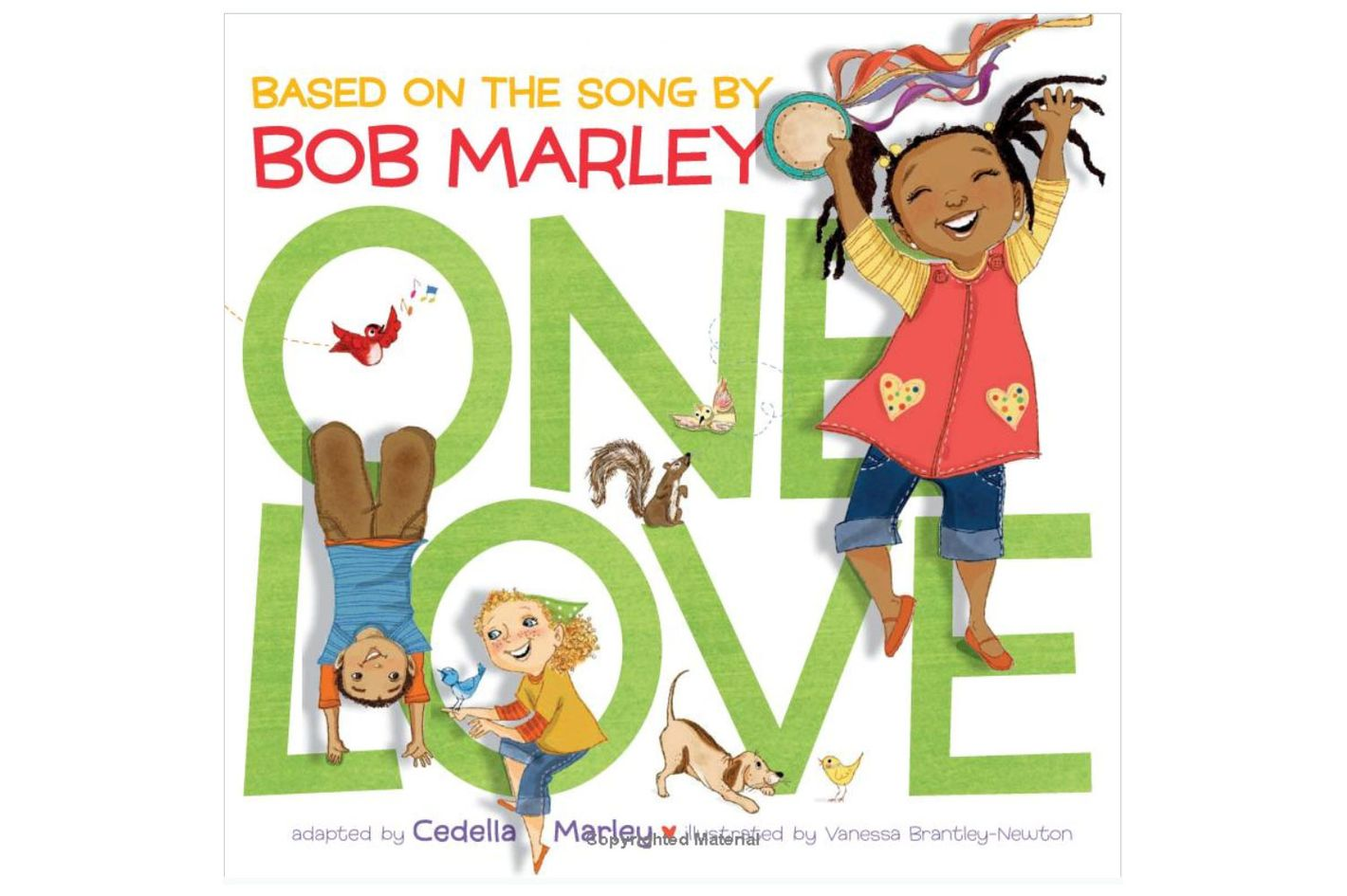"""One Love,"" by Cedella Marley, illustrated by‎ Vanessa Newton"