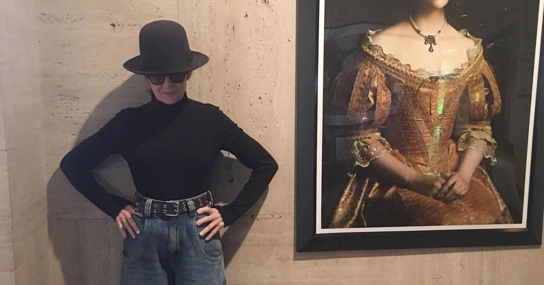 DIANE KEATON WOULD LIKE TO TELL YOU ABOUT HER PANTS