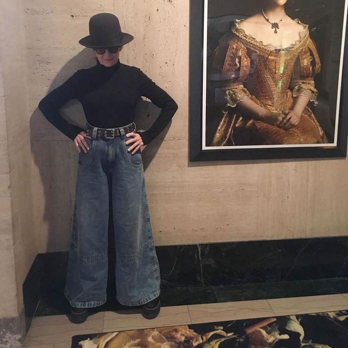 5abd95898cd7e Diane Keaton s Instagram Makes Everyone Want Wide-Leg Pants
