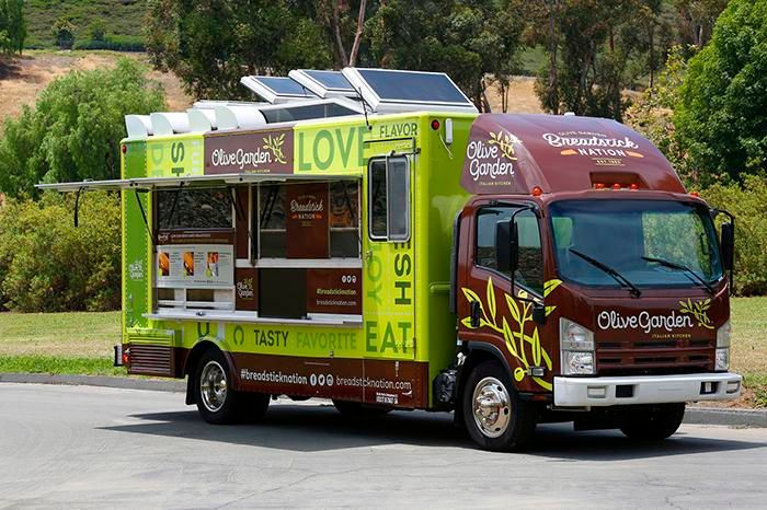 The Olive Garden Food Truck Managed to Offend an Entire Italian ...