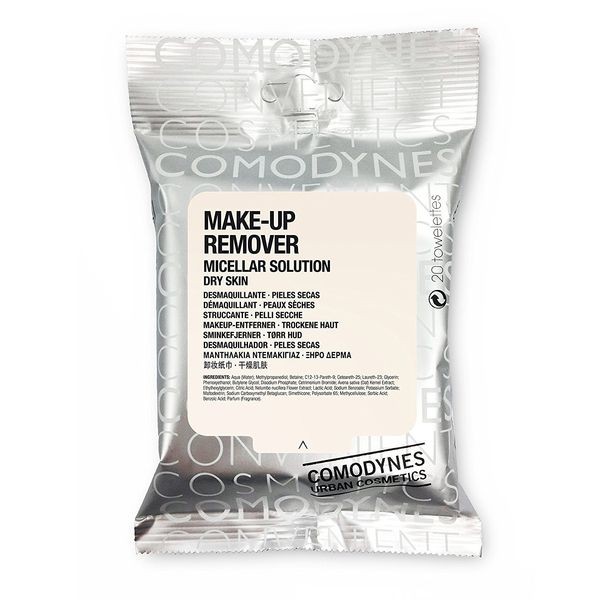 Comodynes Makeup Removers Towelettes, 3 packs
