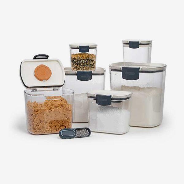 King Arthur Flour Rectangular Airtight Storage Set, Set of 6