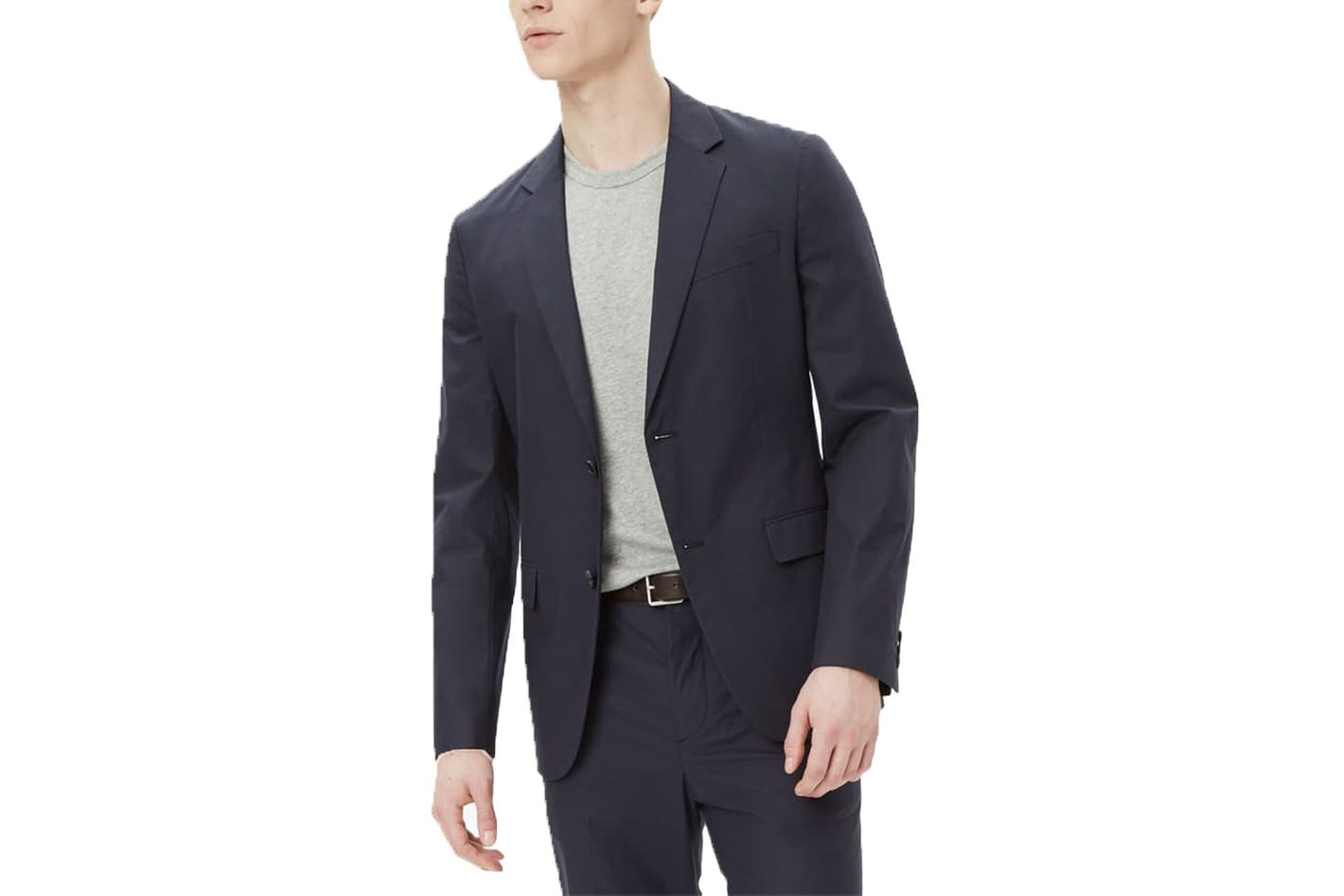 Theory Cotton Poplin Suit
