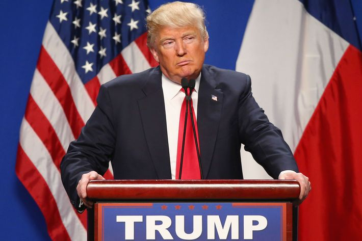 Donald Trump Holds Campaign Rally In Fort Worth