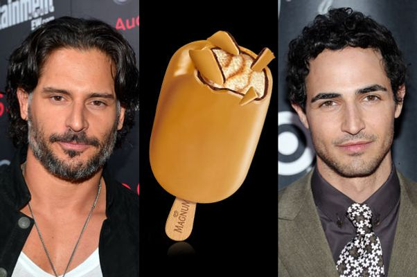 Joe Manganiello, Magnum, and Zac Posen.