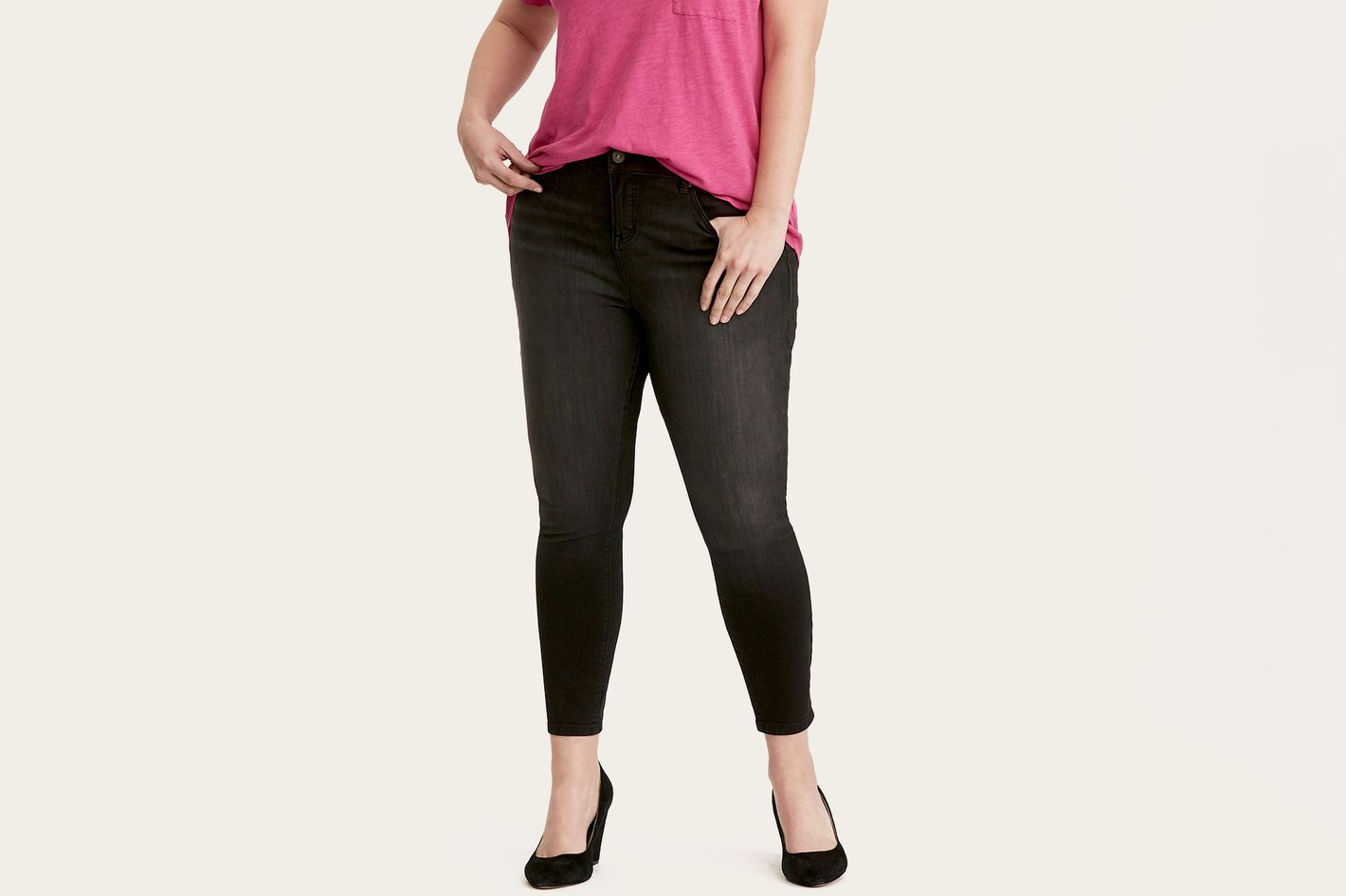 Premium Stretch High-Rise Curvy Skinny Jeans