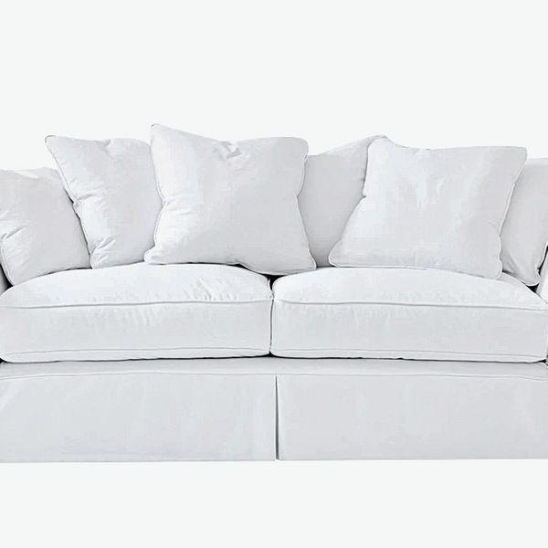White Slipcovered Sofas Are Back In Style The Strategist New York Magazine