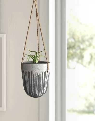 Hepburn Terra-Cotta Hanging Planter