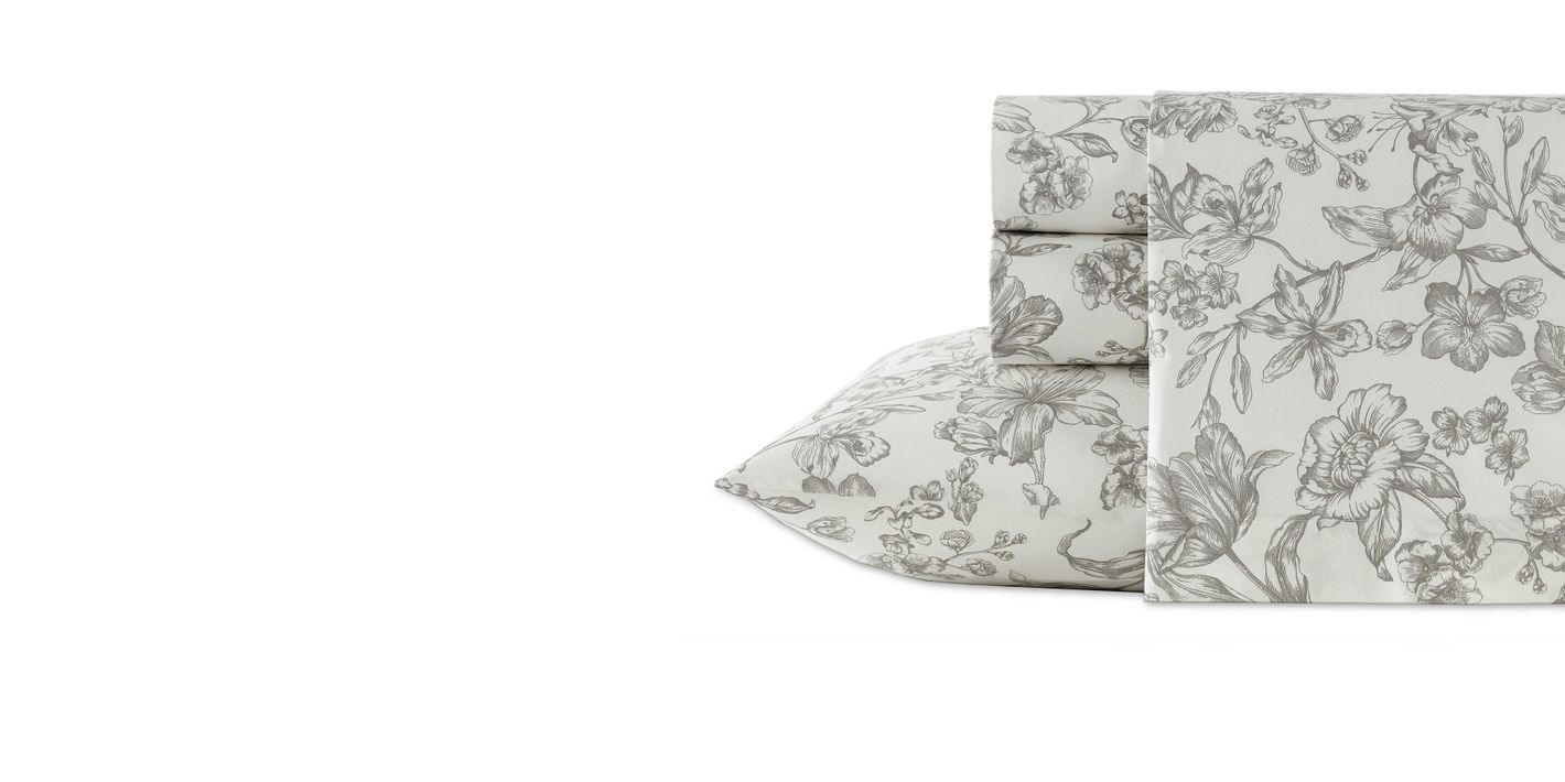Wedgwood Vibrance Sheet Set in Grey