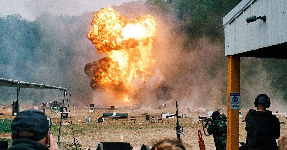 What the World's Biggest Machine-Gun Shoot Looks Like