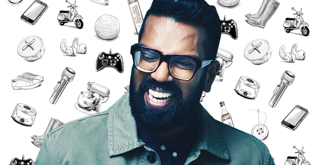 What Romesh Ranganathan Can't Live Without