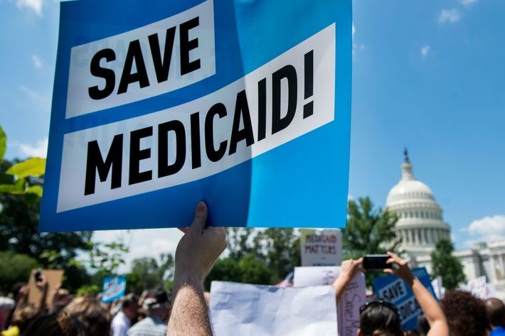 How the Senate Might Do Even More Damage to Medicaid – New York Magazine