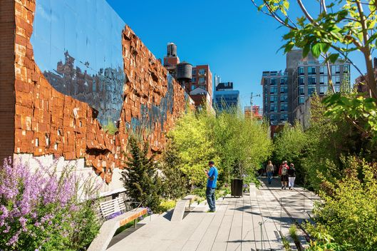 High Line Public Park, New York City