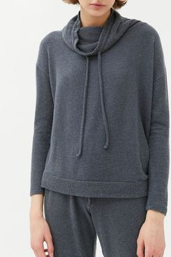 Eberjey Cozy Time Funnel Neck Top