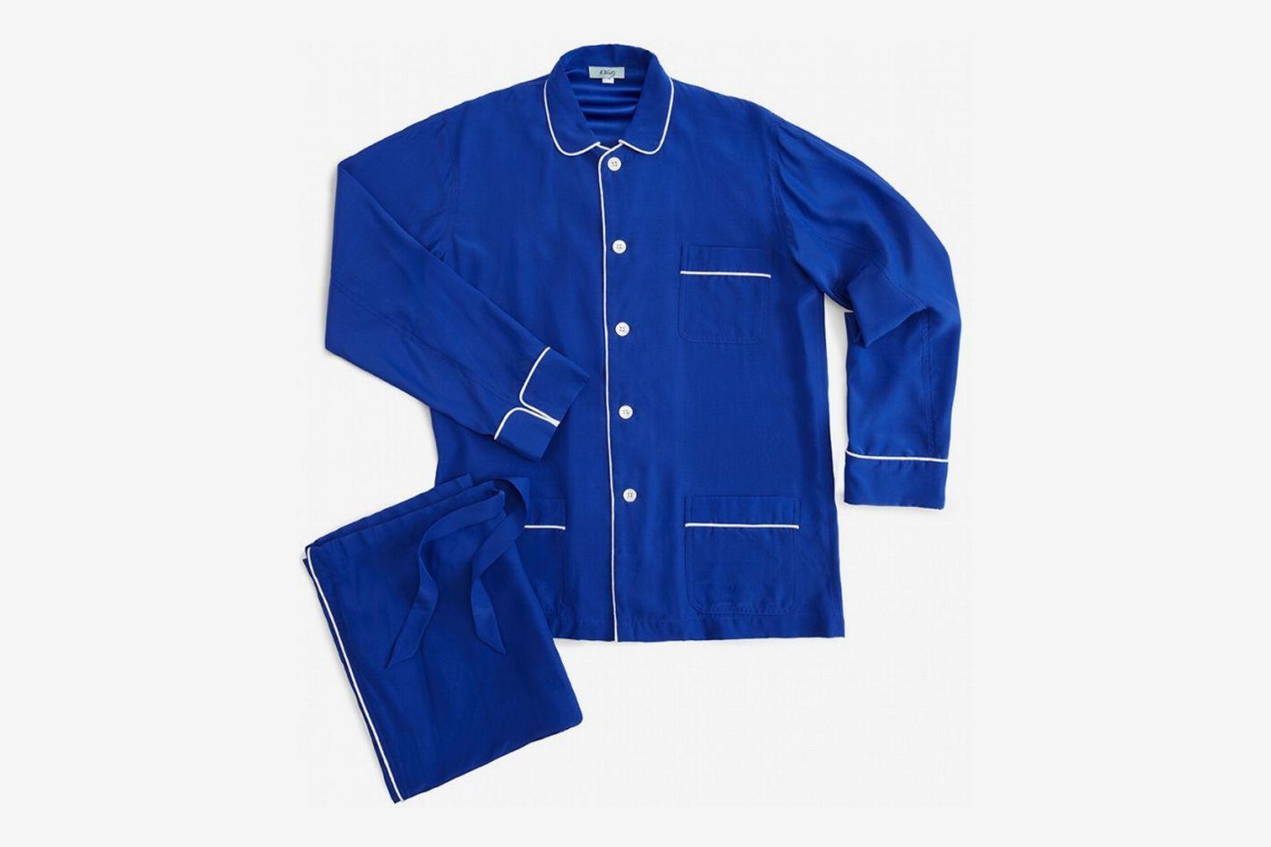 Olatz Silk Unisex Pajamas