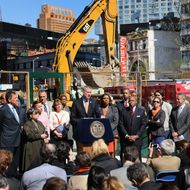 Bill De Blasio Makes Announcement On New Plan For Affordable Housing