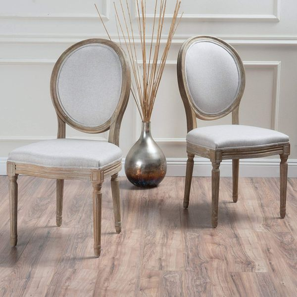 Christopher Knight Home Phinnaeus Beige Fabric Dining Chair