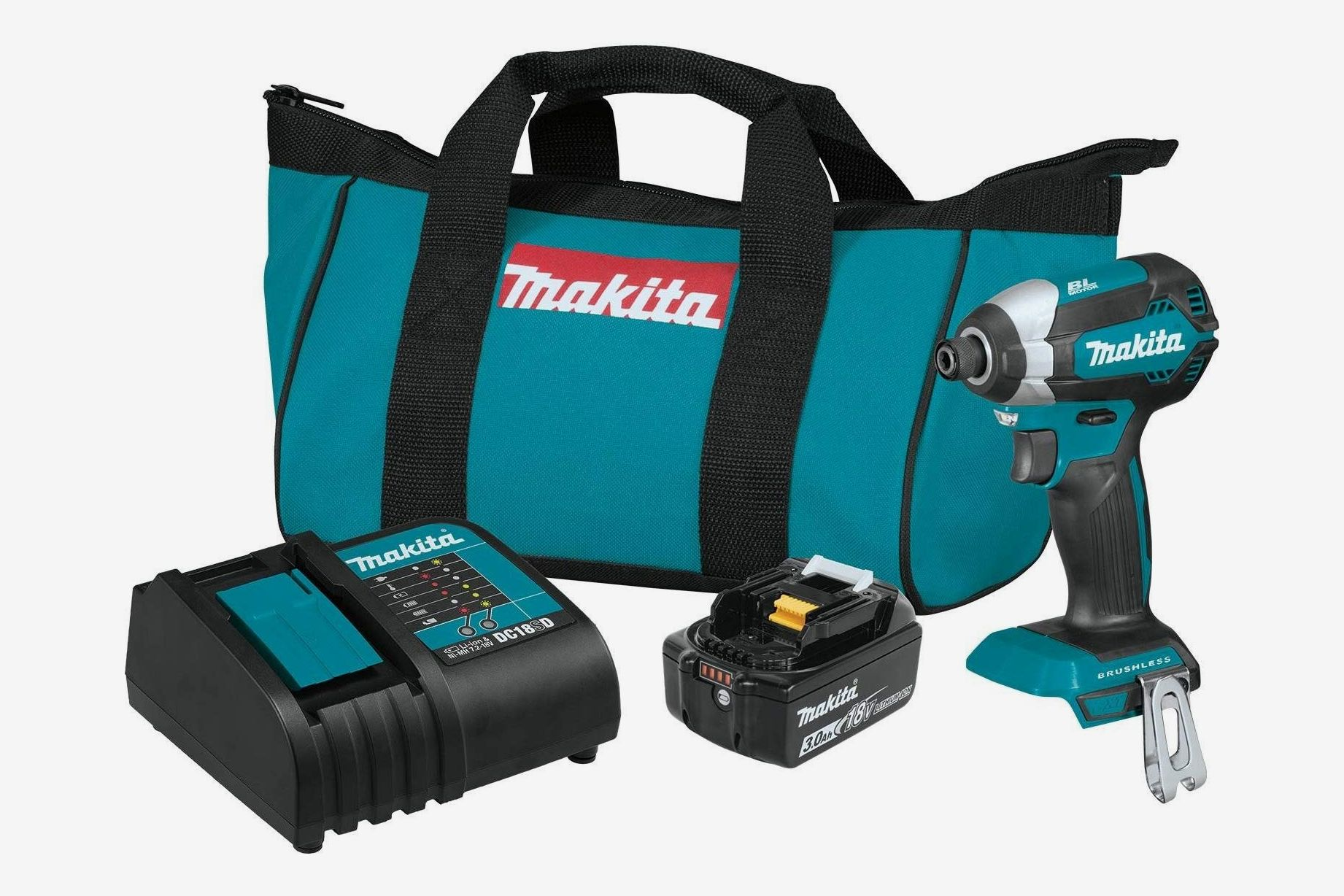 Makita Lithium-Ion Brushless Cordless Impact Driver Kit