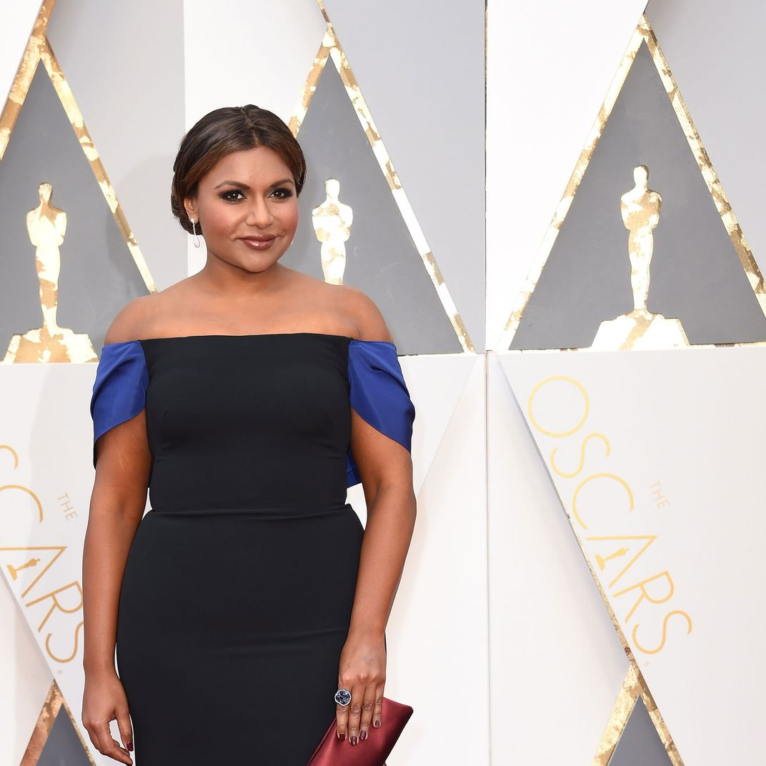 See Actress Mindy Kaling S Best Fashion