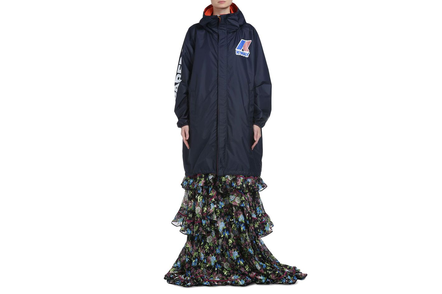 Dsquared2 x K-Way Reversible Windbreaker Parka