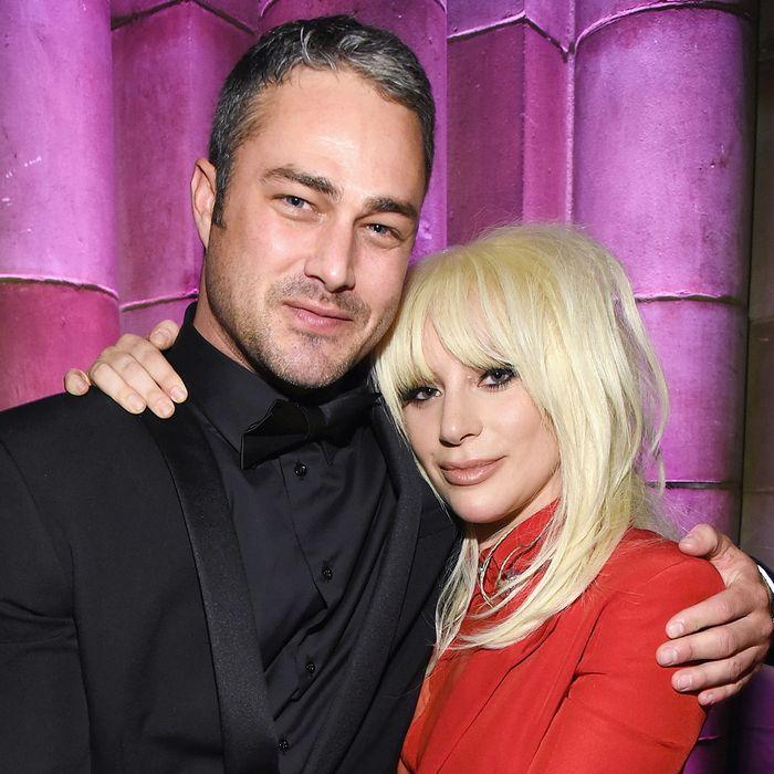 Lady Gaga and Taylor Kinney.