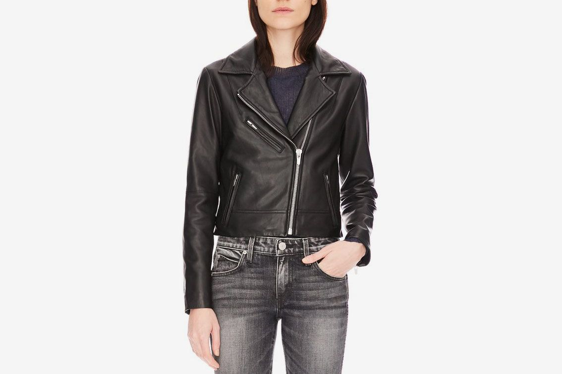 a79822690 Veda Leather Jacket Warehouse Sale