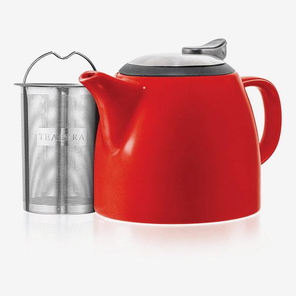 VAHDAM Porcelain Teapot - Dark Green