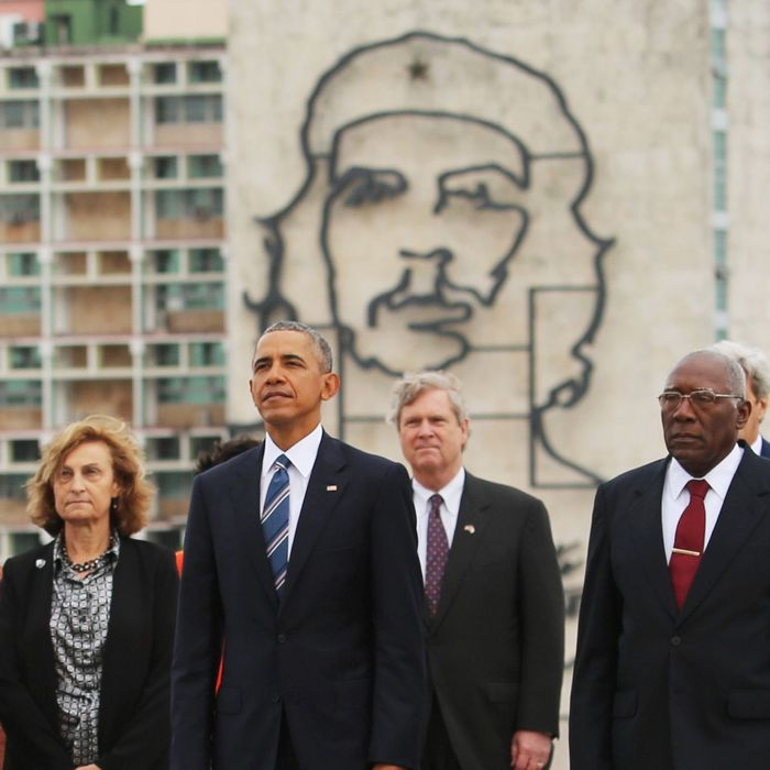 CUBA-US-OBAMA-VALDES